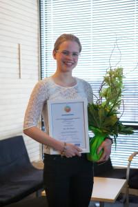 Anna-Maija Rauramaa voitti elintarvike tai raaka-aine -sarjan nopealla proteiinipastallaan.